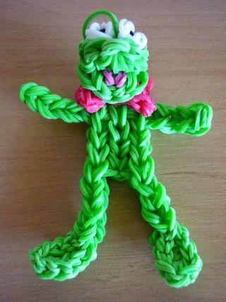 Loom-figuurtje-groenpoppetje
